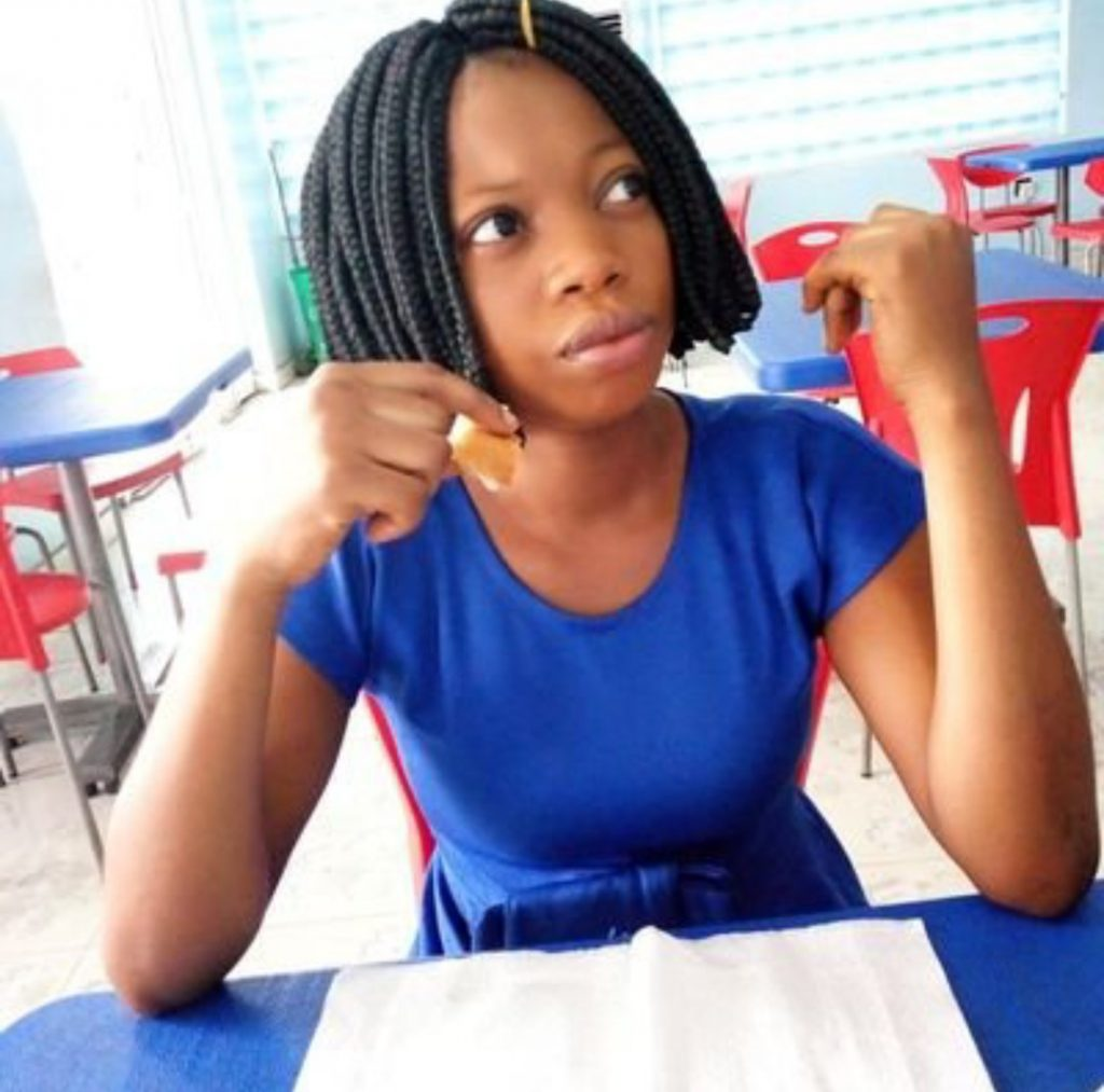 Nigerian lady disappoints feminists, showers praises on men