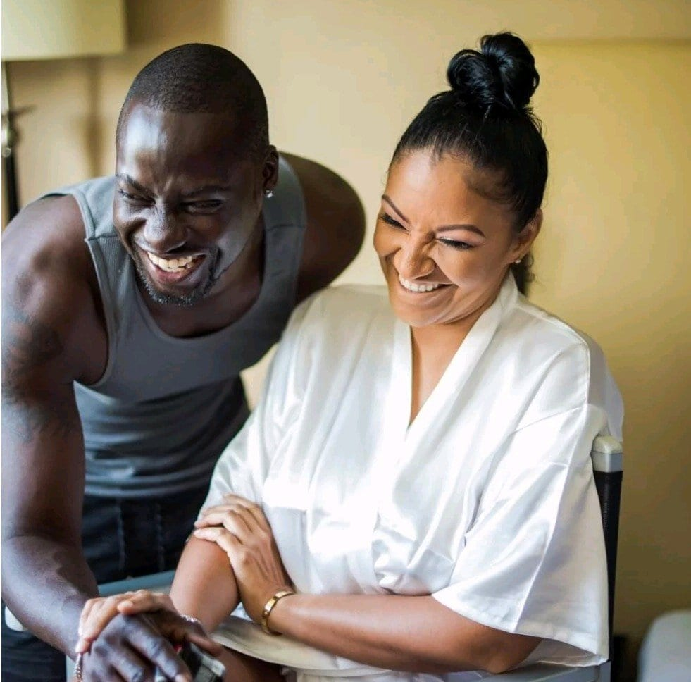 Chris Attoh's wife