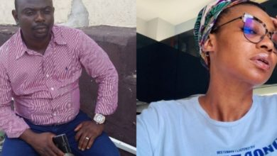 Photo of Man who accused actress Nse-Ikpe Etim of abortion gets exposed as a man who sleeps around