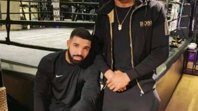 Photo of Anthony Joshua reveals he's a victim of Drake's Curse