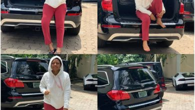 Photo of Regina Daniels receives another Mercedes Benz gift from an unnamed person (Photo)