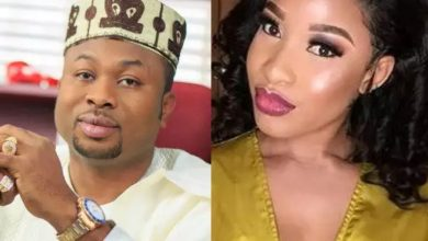 Photo of Olakunle Churchill finally reacts to Tonto Dikeh's claim of him being a 40 seconds man