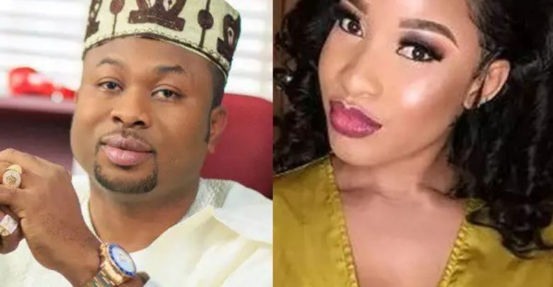 Tonto Dike's ex-husband, Churchill reacts to being '40 seconds man' in bed