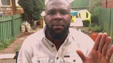 Photo of Oyemykke reacts to Burna Boy leaving social media
