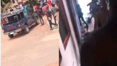 Photo of Two students shot as Caleb University students riot (Video)