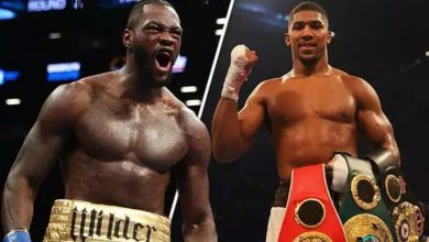 Photo of Anthony Joshua sends strong message to Deontay Wilder
