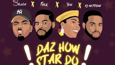 "Photo of Skiibii releases ""Daz How Star Do"" ft. Teni x Falz x DJ Neptune (Get it here)"