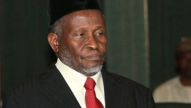 Photo of Acting CJN, Tanko Mohammed, in age falsification scandal