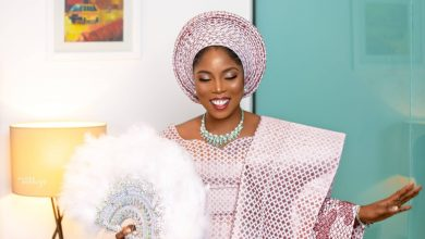 Photo of Official photos from Tiwa Savage's look alike wedding