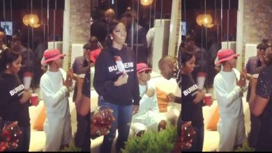 Photo of Wizkid and girlfriend, Tiwa Savage attend Patoranking's album listening party (videos)