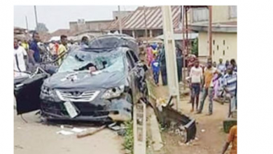 Photo of Boy, 4 crushed to death inside his parents' compound by a car in Lagos