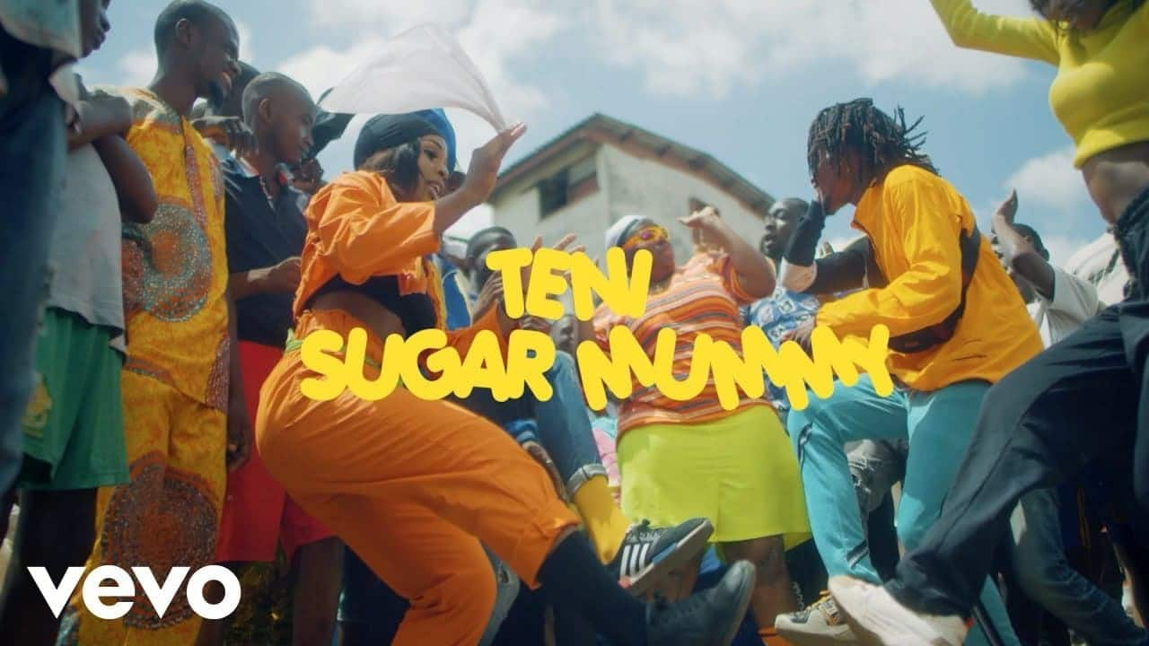 download video Teni sugar mummy video download mp4