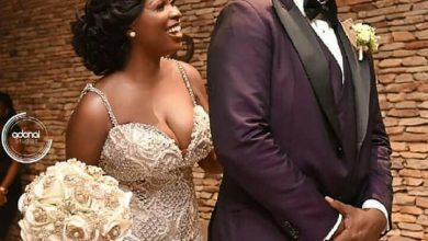 Photo of Official photos from John Dumelo's white wedding to his lover, Gifty