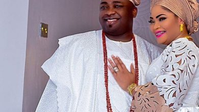 Photo of Oba Elegushi's first wife speaks on his marriage to another woman (photos)