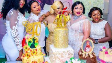 Photo of Iyabo Ojo, MC Oluomo, Bukola Adeeyo, others storm Funke Etti's 40th birthday party (photos)