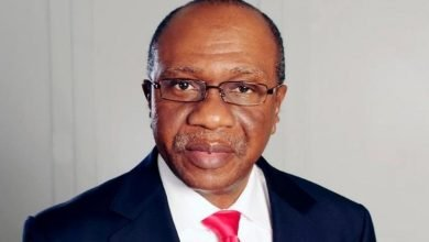 CBN: Buhari present Godwin Emefiele for second term