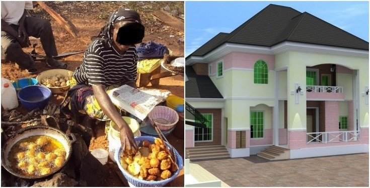 In Lagos, this is how a widow who sells 'akara' for a living became a landlord