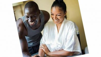 Photo of Actor Chris Attoh's new wife, Jennifer, shot dead in the U.S