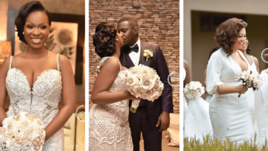 Photo of Lady who said John Dumelo's wedding is irritating, get his wife's epic reply