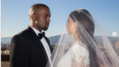 Photo of 5th Anniversary: Kim Kardashian shares unseen wedding photos with Kanye West