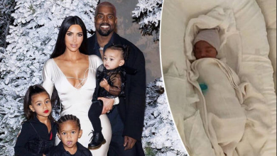 Photo of Kim Kardashian trademarks Psalm West's name for future businesses