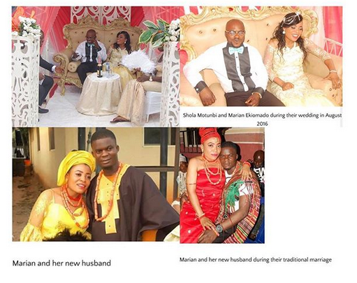 Man cries out as his wife marries his best man without divorcing him