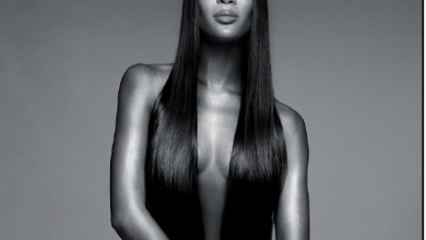 Photo of Naomi Campbell poses completely unclad for sultry new Nars beauty campaign (Photo)
