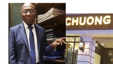 Photo of Read Nigerians hilarious reactions after seeing Ex-President Obasanjo in suit (Photos)