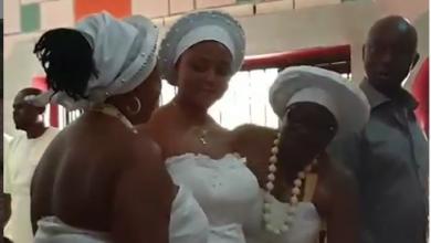 Photo of Regina Daniels' husband, Ned Nwoko gets her initiated into womanhood