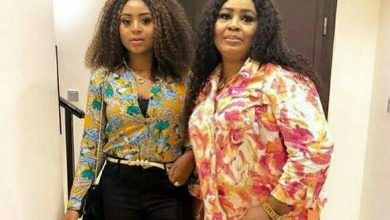 Photo of Regina Daniels' father never married her mother, has no right to demand bride price