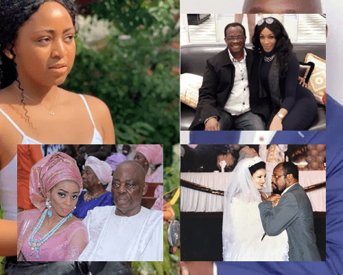 Just like Regina Daniels -8 Young ladies that married much older lover for 'better lives'