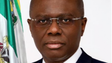 Photo of Official portrait of new Lagos State governor, Babajide Sanwo-Olu released