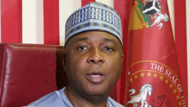 Photo of Senate president Bukola Saraki in fresh EFCC trouble