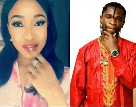 Speed Darlington to Tonto Dikeh: 'With me you will never lack any sexual pleasure'