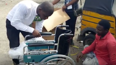 Photo of Be inspired! Meet Hafizu, the Crippled but independent Keke Rider (photos, video)