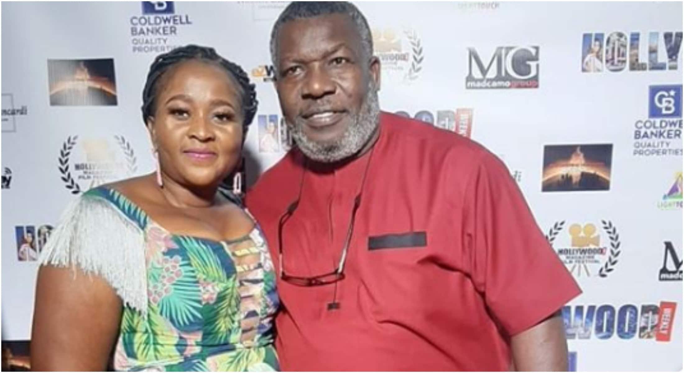 Actor Ejike Asiegbu's wife