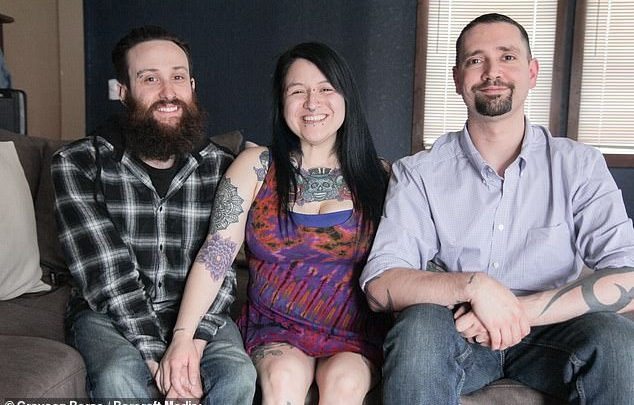 Mom of three, married to two husbands, all living together in same house