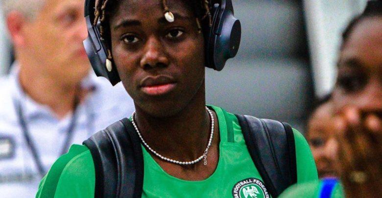 Nigeria's Super Falcons star, Asisat Oshoala