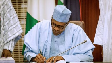 Photo of Buhari sends ministerial list to National Assembly
