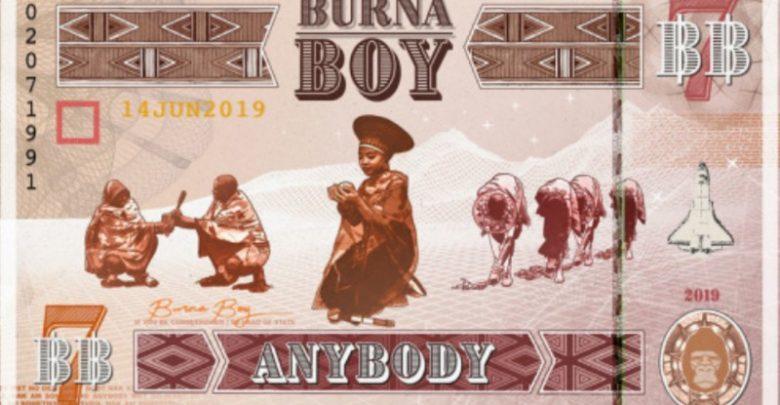 Burna Boy Anybody download