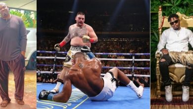 Anthony Joshua: Don Jazzy, Olamide & other celebrities react to boxer's shocking defeat