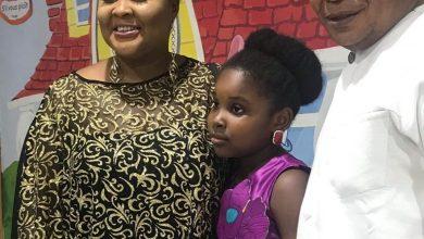 Photo of Ireti Osayemi Reunites With Husband For Daughter's Birthday (Photos)