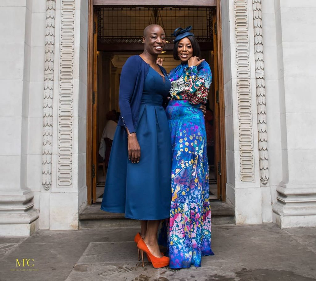 Mo Abudu's daughter weds in London court