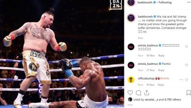 Photo of Anthony Joshua dropped me with a lucky punch – Andy Ruiz