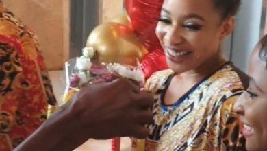 Photo of How Tonto Dikeh was surprised on her birthday (Photos)
