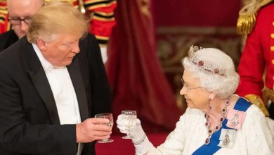 Photo of What Trump said about the Queen of England at state banquet dinner in London (Photos)