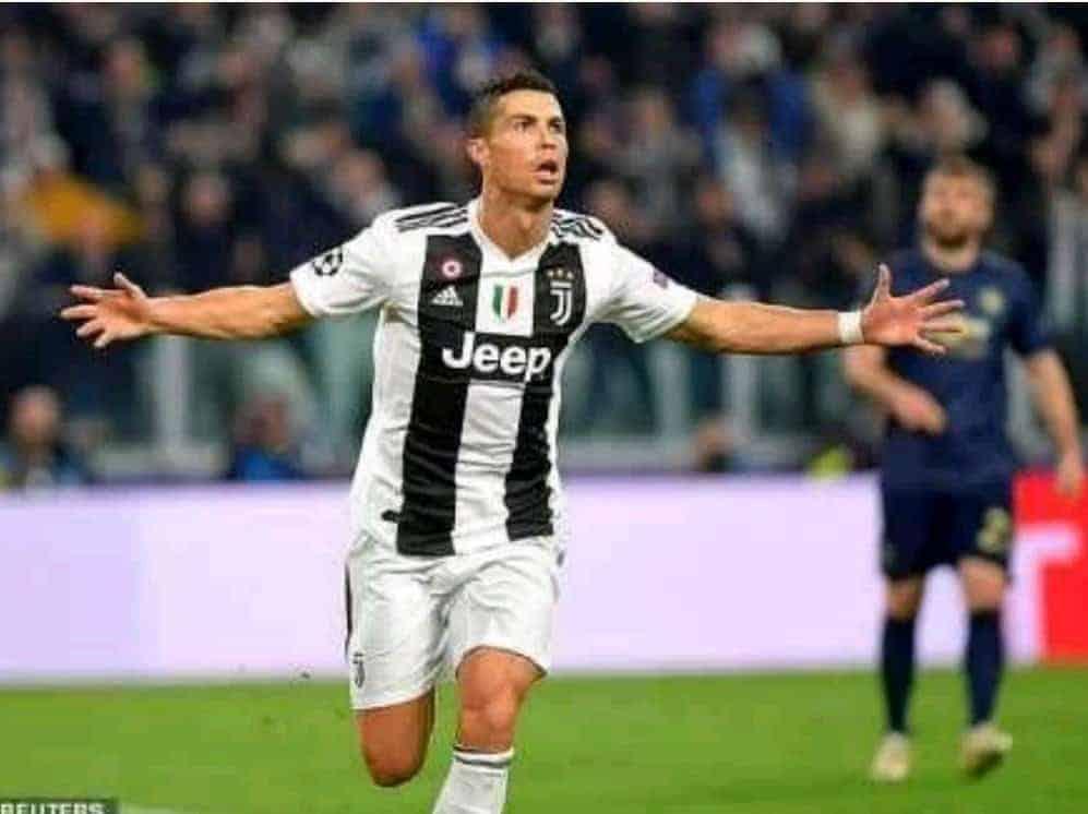 Ronaldo's volley