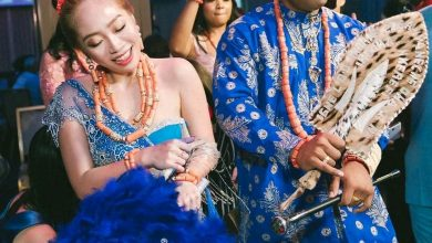 Photo of Nigerian man Weds his Taiwanese bride in Igbo traditional wedding (Photos)