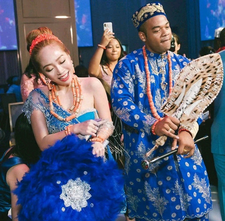 Photo Gallery Nigerian Wedding: Nigerian Man Weds His Taiwanese Bride In Igbo Traditional