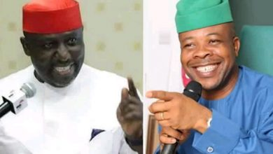 Photo of Okorocha replies Ihedioha as their fight continues